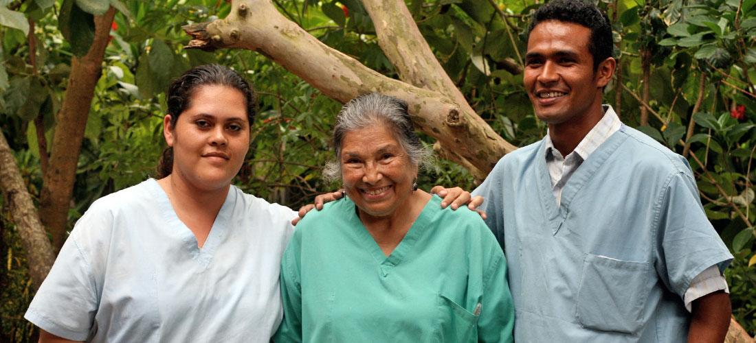 building nicaraguan public health